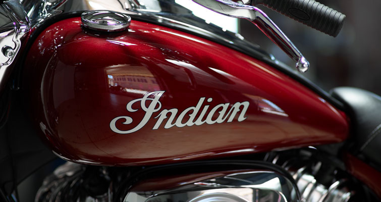 INSIGNE HISTORIQUE INDIAN MOTORCYCLE®